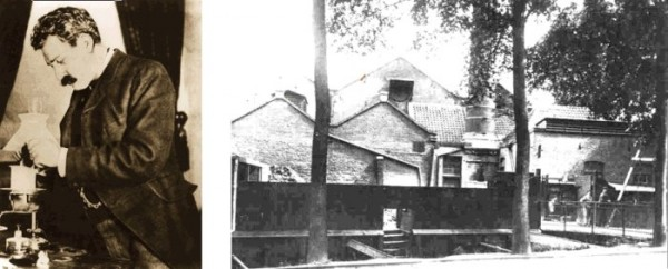 Gerard Philips primera fábrica