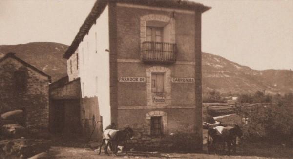 Mesones y posadas de los años 50 en la comarca del Sobrarbe de Huesca.