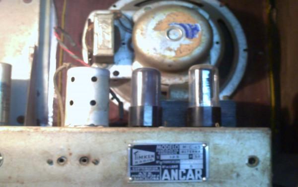 La radio ANCAR modelo Tinkel c 45