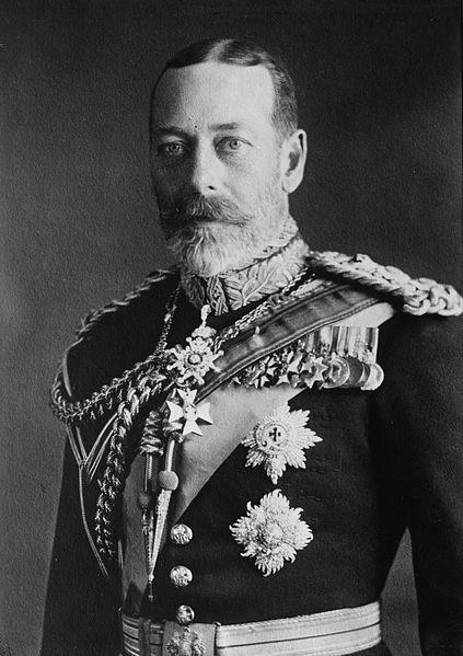 rey jorge V 1923
