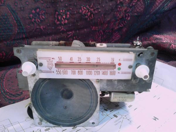 Chasis radio Herfor mg 34