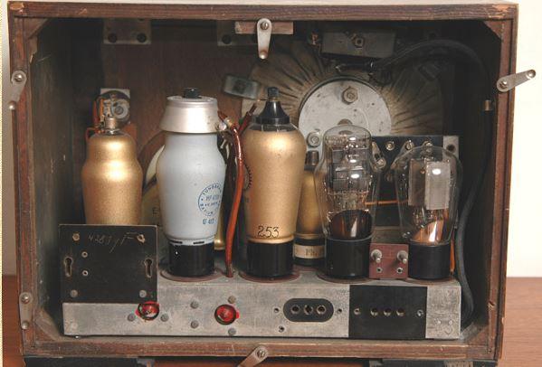 Philips 521V El receptor de radio: Cómo funciona