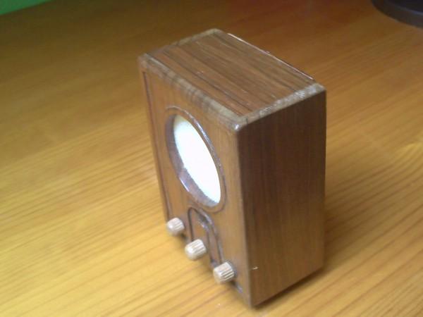 La radio Roland Brandt VE301 GW