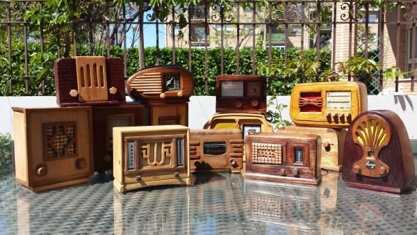 fotos de radios en miniatura