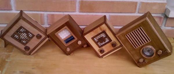 Radio en miniatura Radio Savigliano Radio en miniatura Radiomarelli