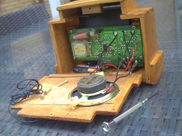 Chasis radioen miniatura Addison 5F