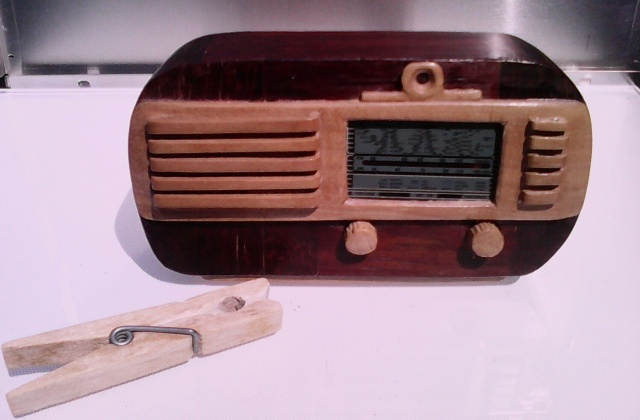 Radio en miniatura  Watt WR115