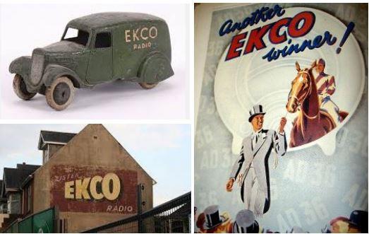 Publicidad Radio EKCO