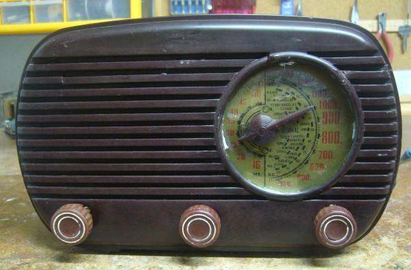 radio circuito corriente continua