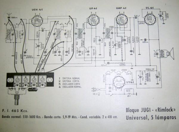 esquema radio universal