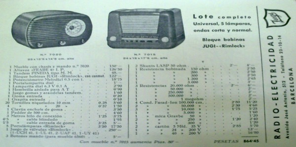 kit material radio