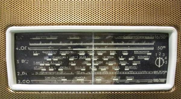 dial radio Marconi 450