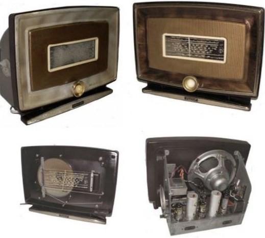 vista posterior radio Marconi 1531