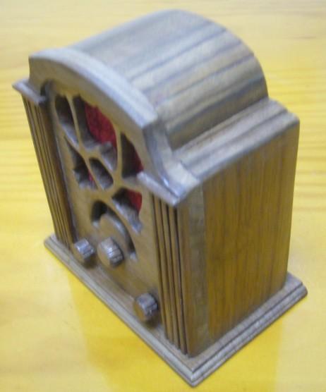 radio en miniatura Allochio Bacchini 53