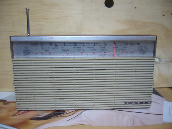 radio transistor Lavis 320 AM