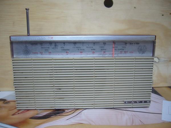 radio transistor Lavis 320 AM