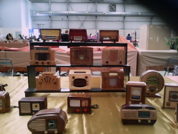 Radios en miniatura en Feriartesania