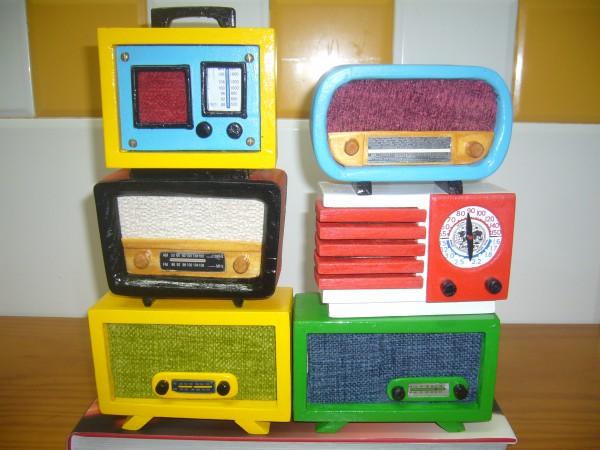 Radios en miniatura retros