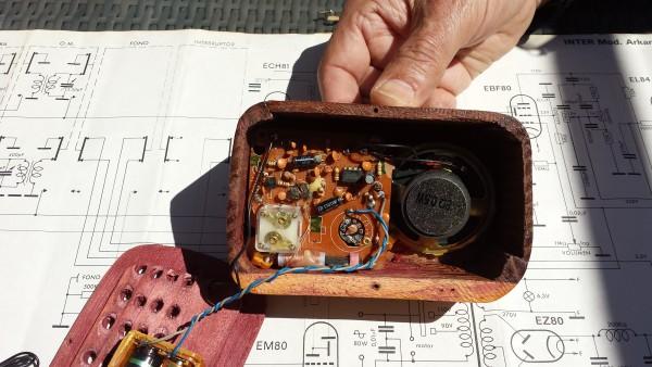 Radio en miniatura Geloso 26 g48
