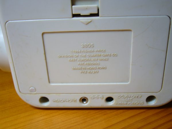 Placa radio Fisher Price