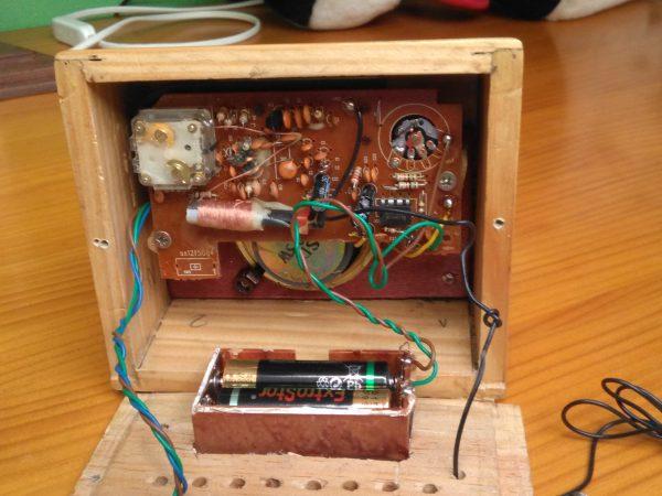 radio en miniatura diseño propio