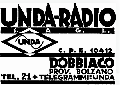 Publicidad Radio Unda