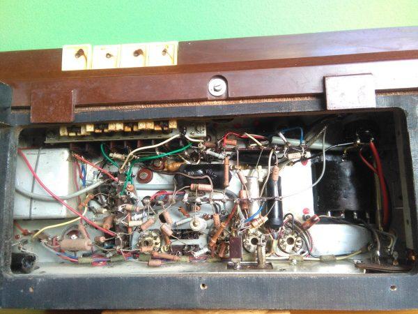 conexionado chasis Radio Askar modelo 1432A