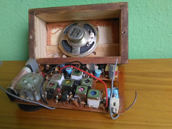 circuito radio en miniatura