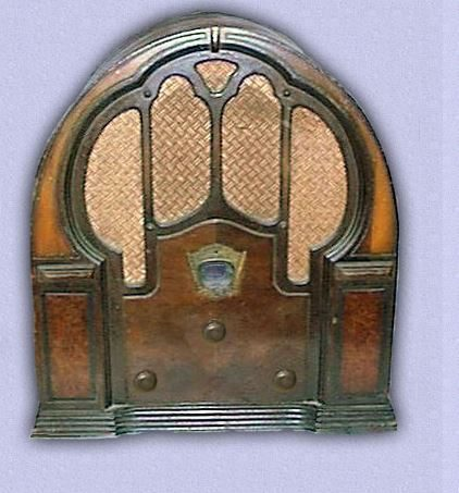 Radio Catedral Crosley modelo 157