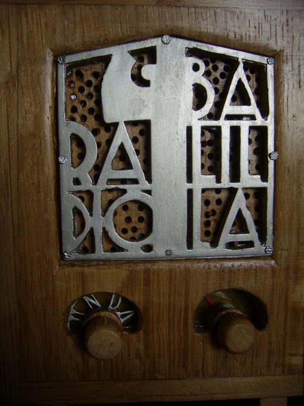 Radio Balilla en miniatura