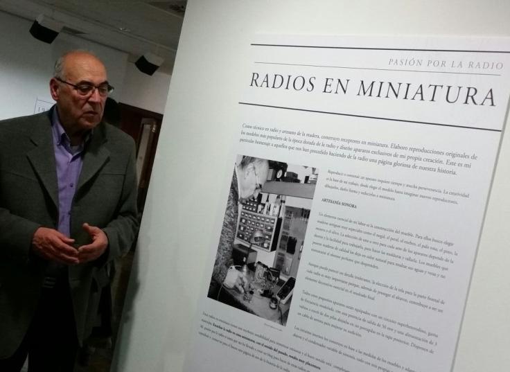 La radio: Un viaje en el tiempo Radios en miniatura