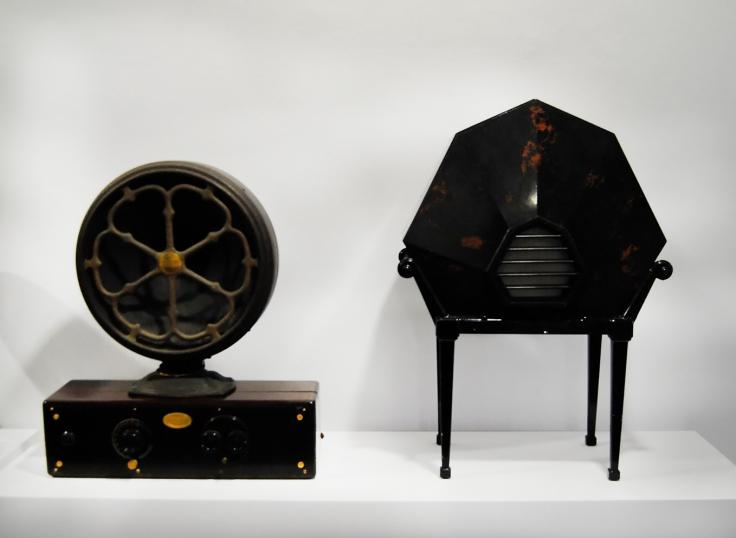 Exposición La radio Un viaje en el tiempo radios años 20