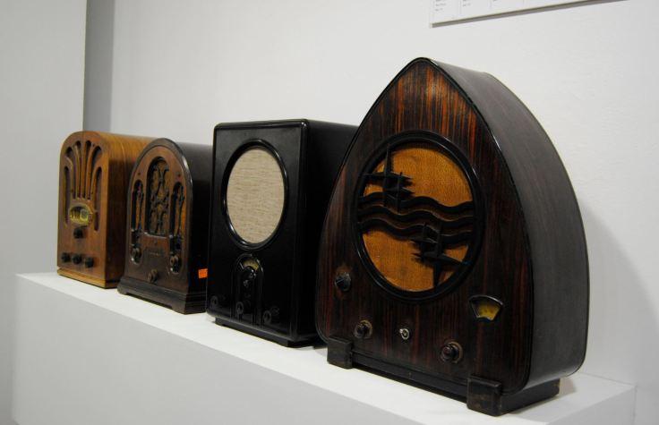 Exposición La radio Un viaje en el tiempo radios años 30