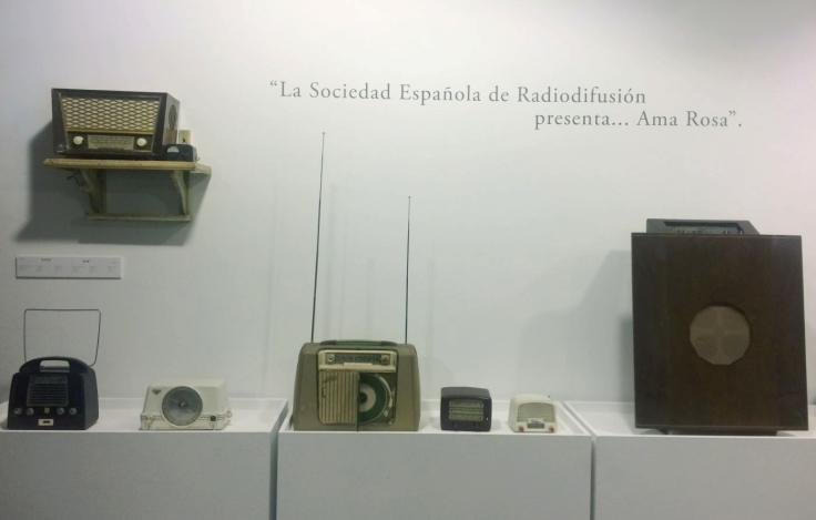 Exposición La radio Un viaje en el tiempo radios años 50