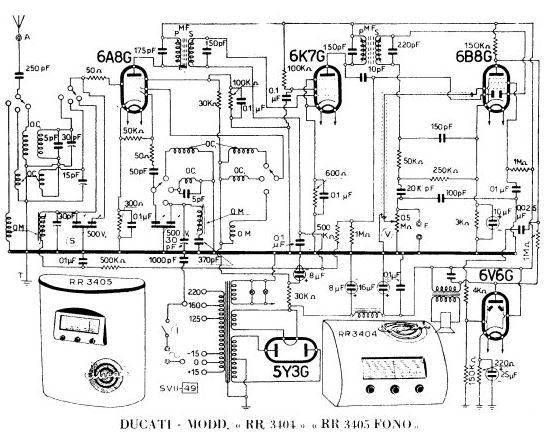 Esquema Radio Ducati RR3404