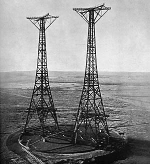 antenas de onda corta radio Nederland