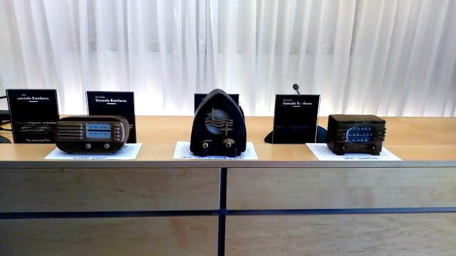 Exposición Radios en miniatura I Premio Gonzalo Estefánia