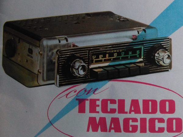 Auto radio Marconi RA-121