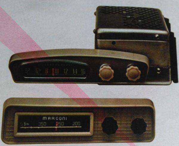 Auto radio Marconi RA- !06